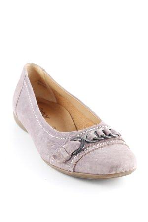 Gabor Bailarinas plegables lila grisáceo look casual
