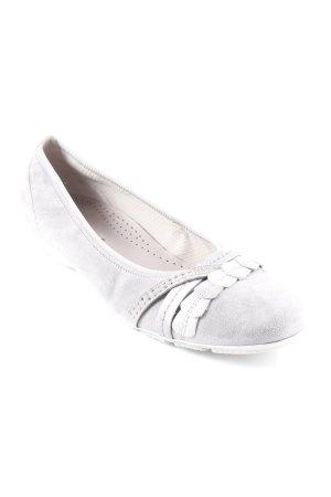 Gabor Ballerines pliables gris clair style simple