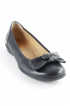 Gabor Bailarinas plegables negro estilo clásico