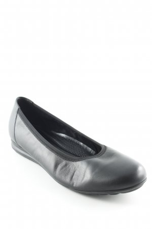 Gabor Ballerines pliables noir style simple