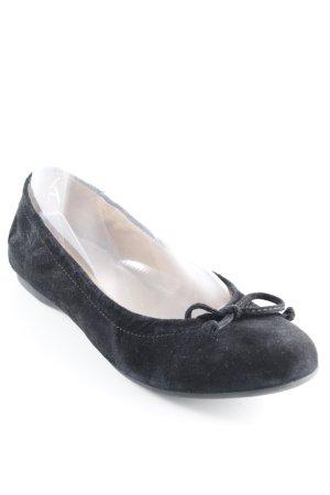Gabor Bailarinas plegables negro estilo sencillo