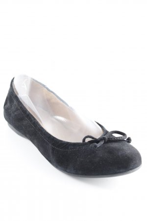 Gabor faltbare Ballerinas schwarz schlichter Stil