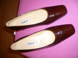 GABOR fashion Pumps Gr. 4 bordeauxrot Lack *NEUwertig*