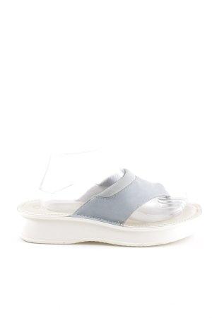 Gabor Flip-Flop Sandals light grey-white casual look