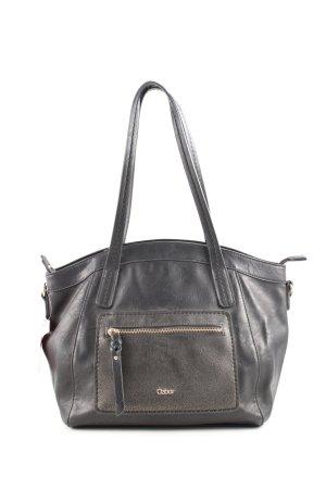 Gabor Handtasche schwarz Business-Look