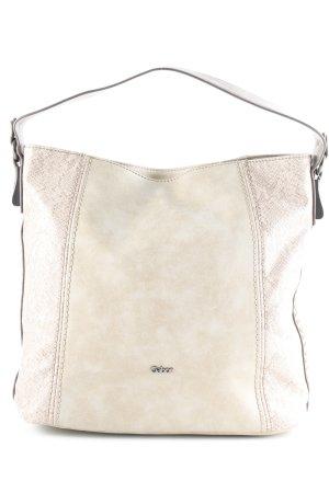 Gabor Handtasche beige-hellbraun Animalmuster Casual-Look