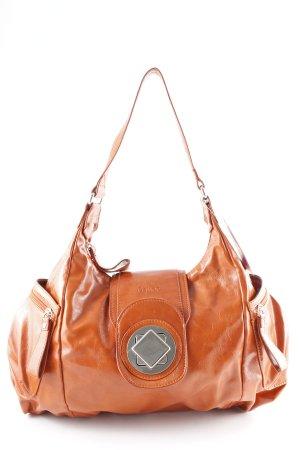 Gabor Sac à main orange foncé style cuir