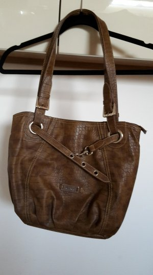 Gabor Carry Bag brown-dark brown imitation leather
