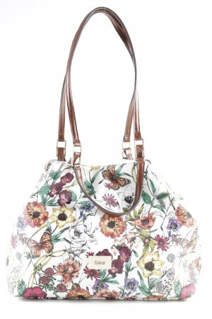 Gabor Bolso barrel estampado repetido sobre toda la superficie look casual