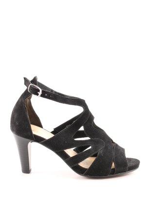 Gabor High Heel Sandaletten schwarz Elegant