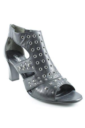 Gabor High Heel Sandal black elegant