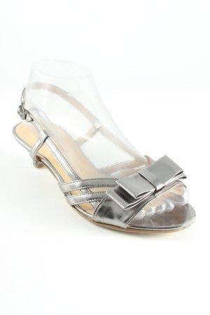 Gabor High Heel Sandal silver-colored elegant