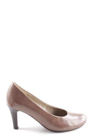 Gabor High Heels bronzefarben Casual-Look