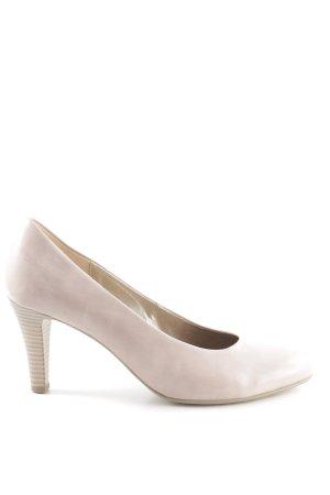 Gabor High Heels wollweiß Business-Look