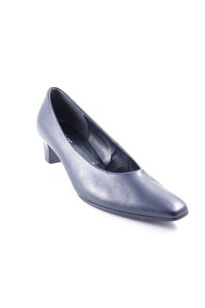 Gabor High Heels dunkelblau Casual-Look