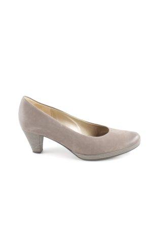 Gabor High Heels graubraun Business-Look
