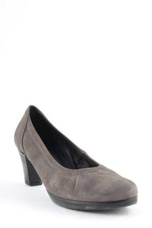 Gabor High Heels graubraun Casual-Look