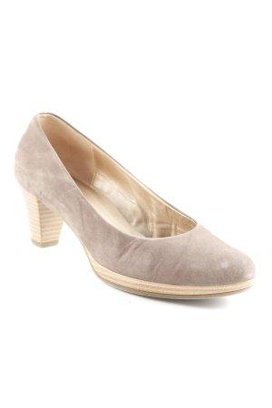 Gabor High Heels graubraun schlichter Stil