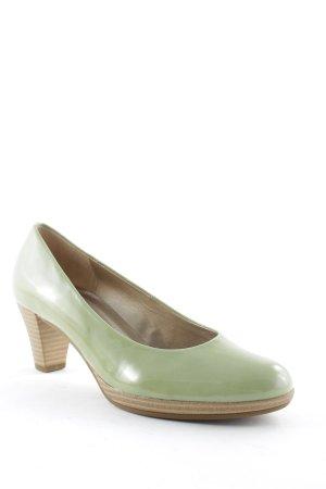 Gabor High Heels graugrün Casual-Look