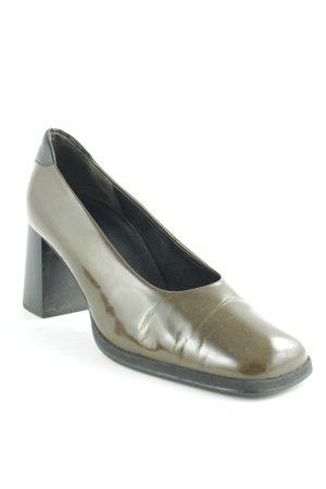 Gabor High Heels grüngrau klassischer Stil