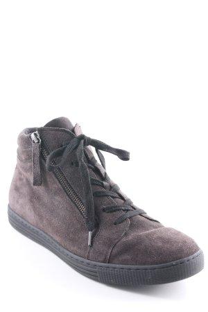 Gabor High Top Sneaker dunkelgrau-schwarz schlichter Stil