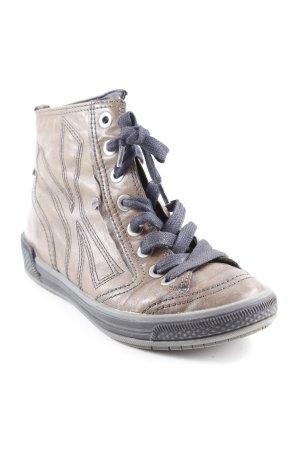 Gabor High Top Sneaker grüngrau Casual-Look