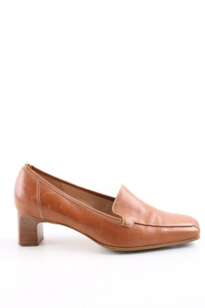 Gabor Hochfront-Pumps hellorange Casual-Look