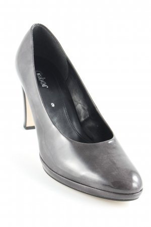 Gabor Hochfront-Pumps anthrazit Casual-Look