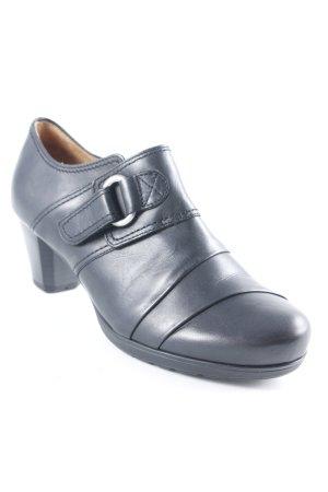 Gabor Chaussure à talons carrés noir style simple