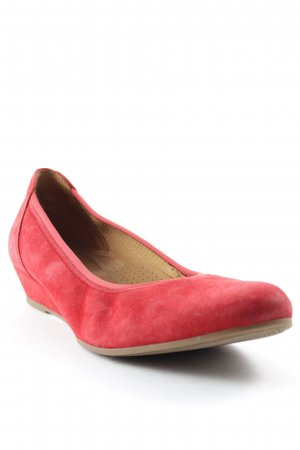 Gabor Keil-Pumps rot Casual-Look
