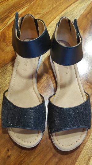 Gabor Platform High-Heeled Sandal multicolored