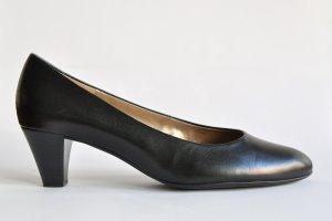 Gabor klassische Pumps Leder schwarz Gr. 6 (39 1/3)