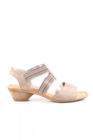 Gabor Comfort Sandals natural white casual look