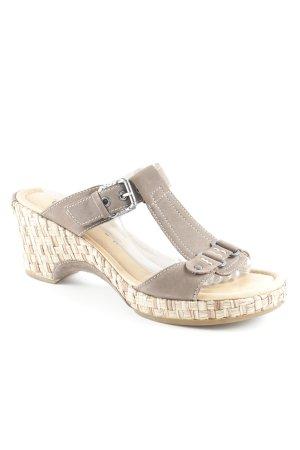 Gabor Comfortabele sandalen lichtbruin casual uitstraling