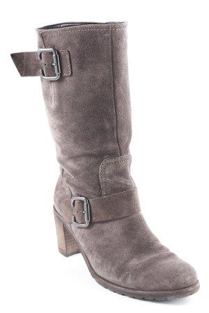 Gabor Korte laarzen antraciet-lichtbruin country stijl