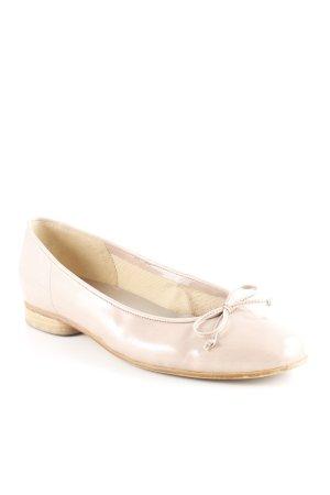 Gabor Lakleren ballerina's stoffig roze zakelijke stijl