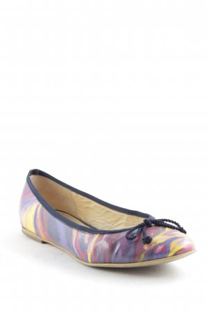 Gabor Patent Leather Ballerinas painting technique pattern casual look