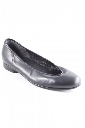 Gabor Patent Leather Ballerinas black casual look