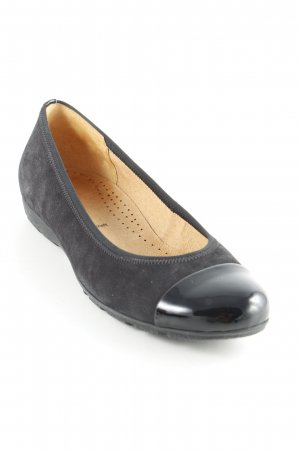 Gabor Patent Leather Ballerinas black classic style