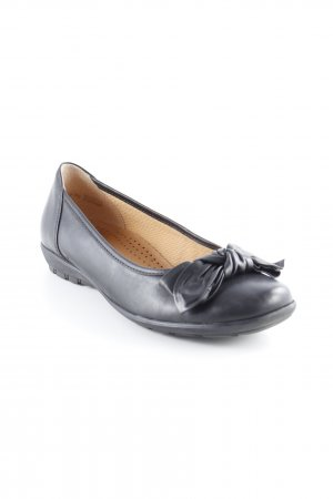 Gabor Patent Leather Ballerinas black romantic style