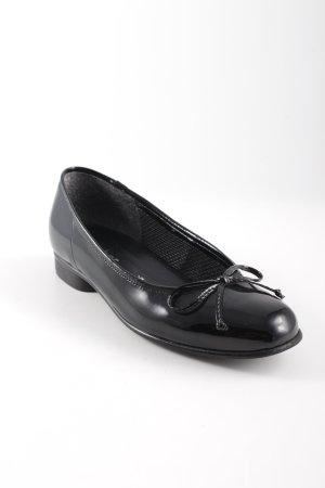 Gabor Mary Jane Ballerinas schwarz Elegant
