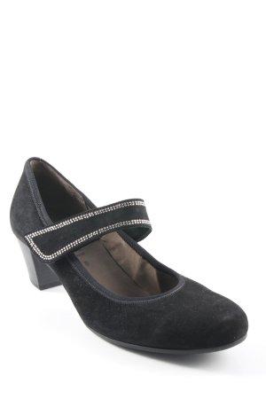 Gabor Mary Jane Schoenen zwart elegant