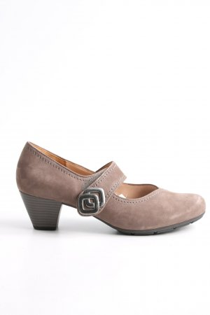 Gabor Mary Jane Pumps brown casual look