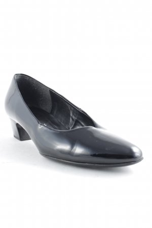 Gabor Mary Jane Pumps schwarz Business-Look