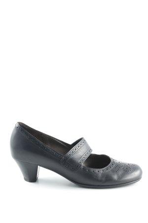 Gabor Mary Jane pumps zwart extravagante stijl