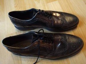 Gabor Richelieu bronze-gris brun cuir