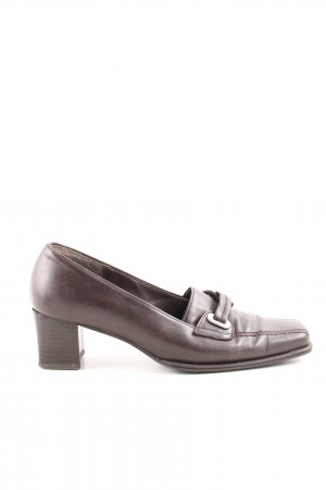 Gabor Moccasins bronze-colored simple style