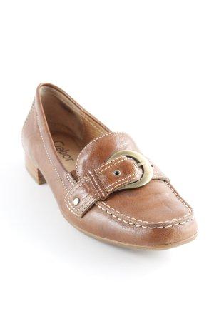 Gabor Mocassino marrone-oro stile casual