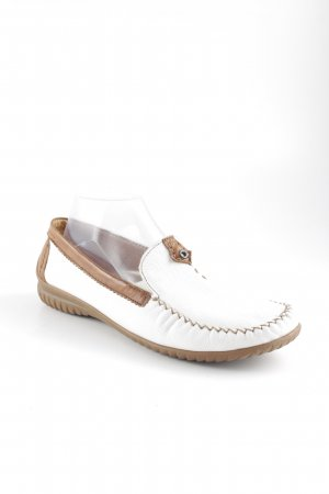 Gabor Moccasins white-light brown casual look