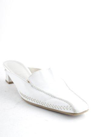 Gabor Sandalias para uso en exteriores blanco-beige estilo «business»